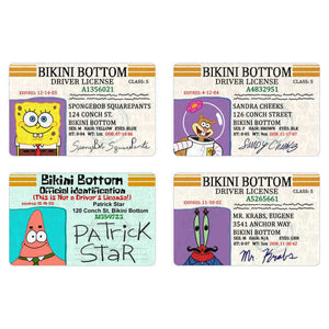SpongeBob SquarePants ID Cards