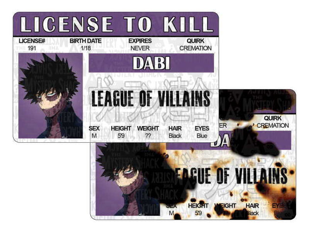 Villain License to Kill