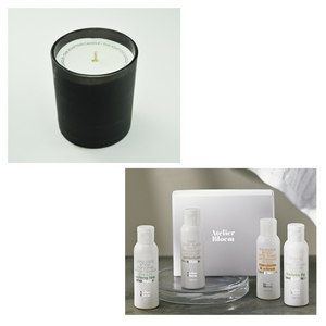 Kimpton Candle + Atelier Bloem Bath and Body Set Gift Box