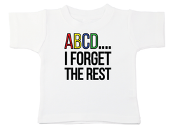 ABCD I Forgot The Rest Tee