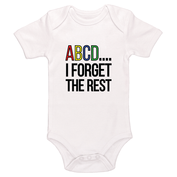 ABCD I Forgot The Rest Baby / Toddler Bodysuit
