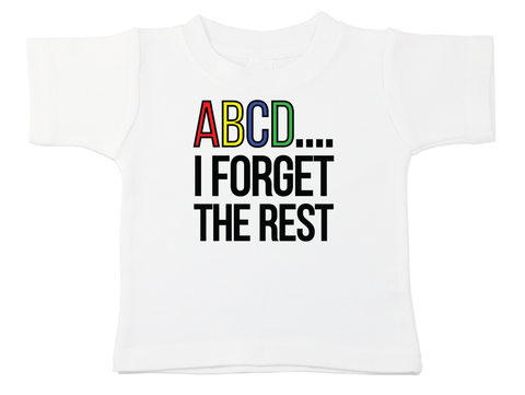 ABCD I Forgot The Rest Bodysuit