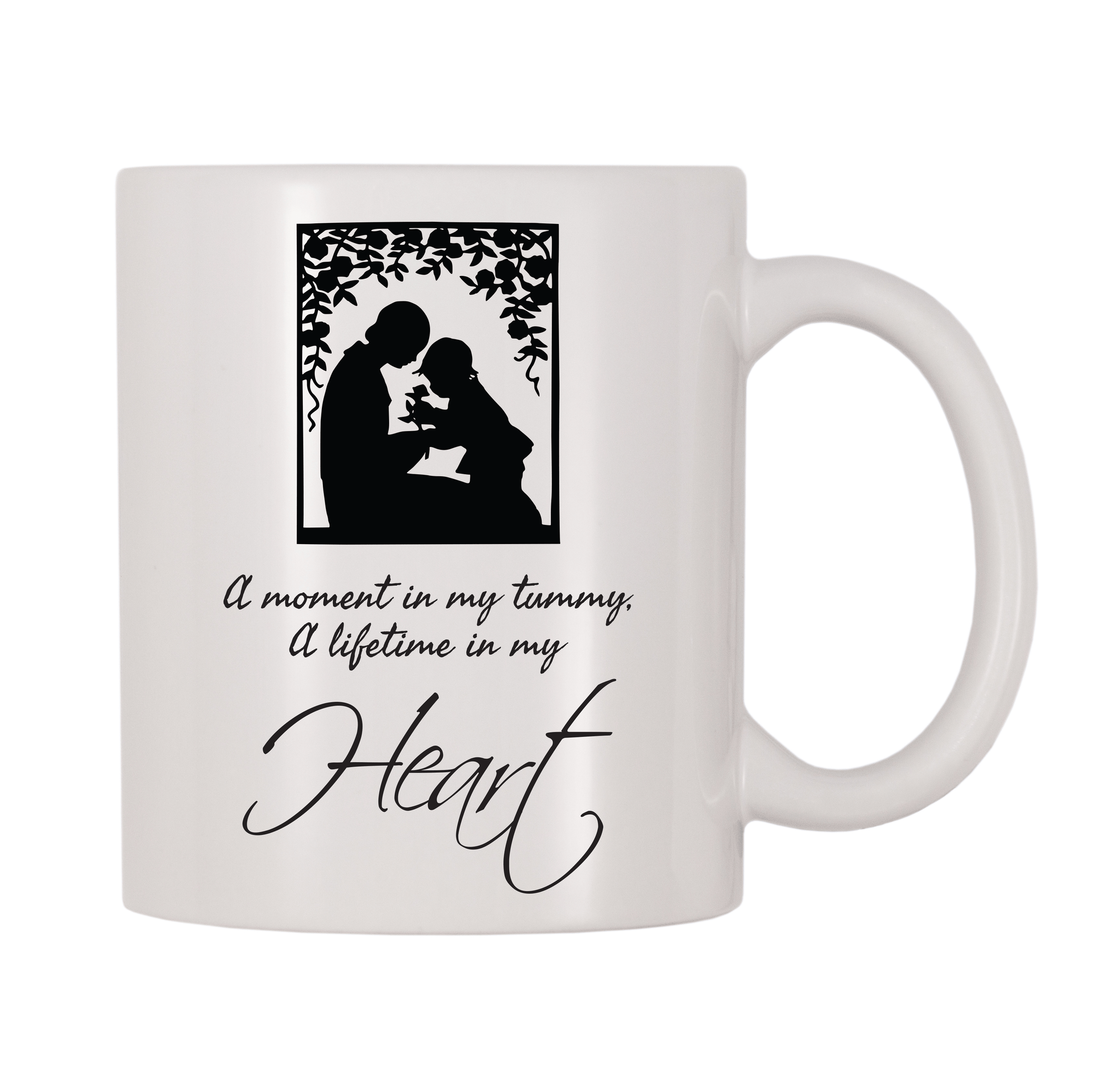 A Moment In My Tummy, A Lifetime In My Heart 11oz Coffee Mug