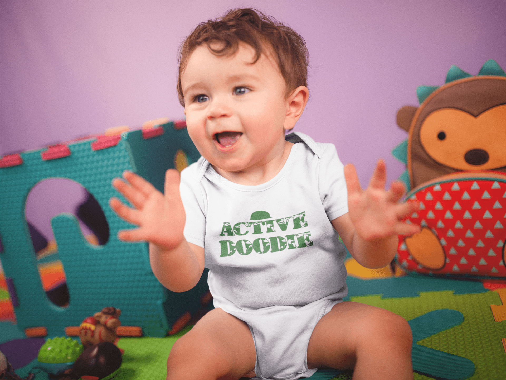 Kinacle Active Doodie Baby//Toddler T-Shirt