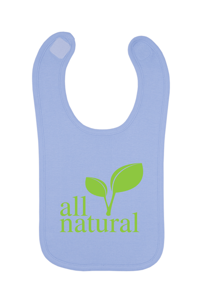 All Natural Baby Bib, 0-24 Months