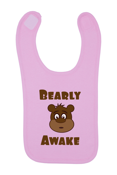 Bearly Awake Baby Bib, 0-24 Months