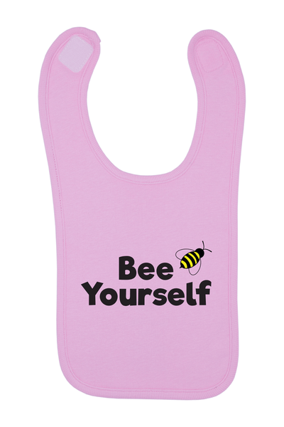 Bee Yourself Baby Bib, 0-24 Months