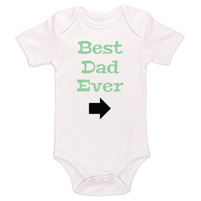 Best Dad Ever Baby / Toddler Bodysuit