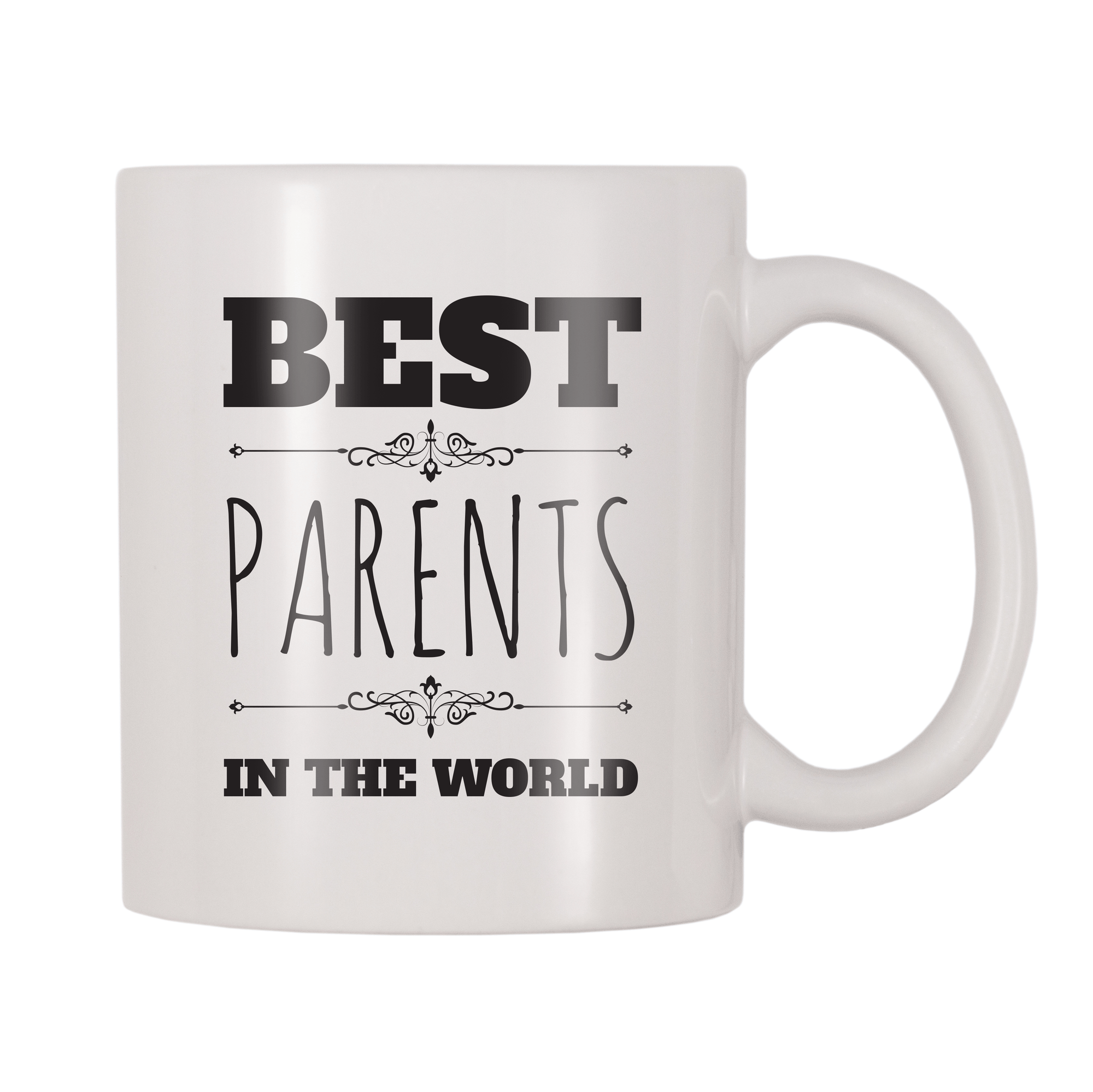 Best Parents In The World 11oz Coffee Mug