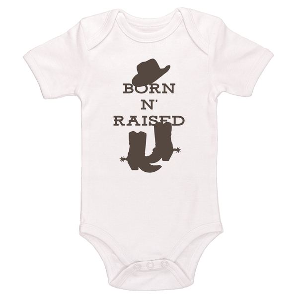 Born N' Raised Baby / Toddler Bodysuit