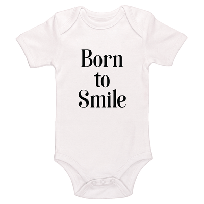 Born To Smile Baby / Toddler Bodysuit