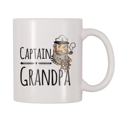 Captain Grandpa 11oz Coffee Mug