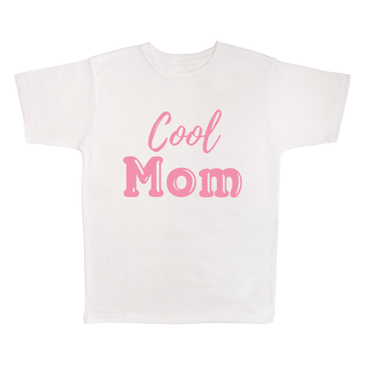 Cool Mom, 100% Polyester Adult Shirt