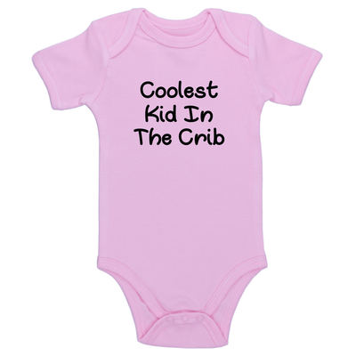 Coolest Kid In The Crib Baby / Toddler Bodysuit