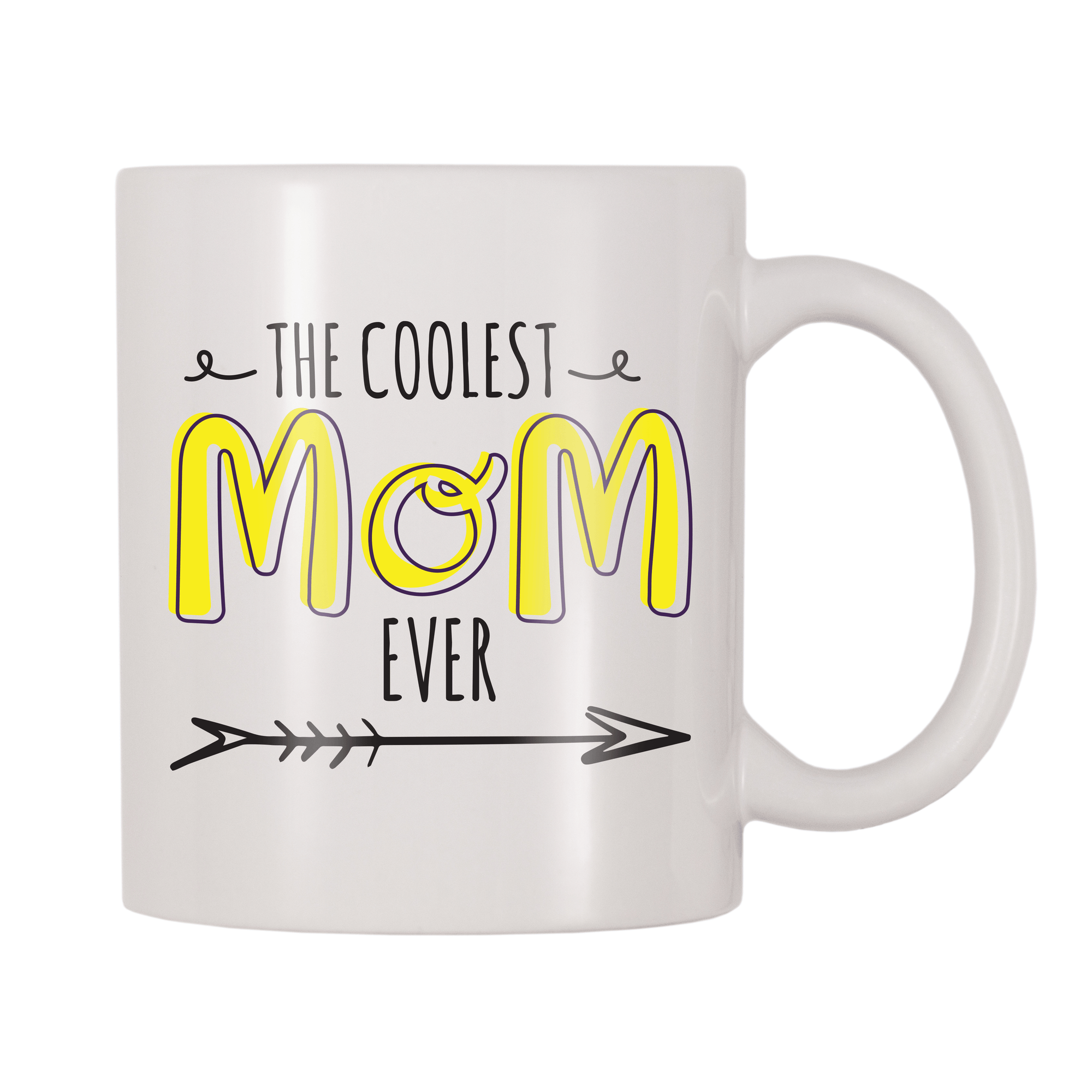 The Coolest Mom Ever 11oz Coffee Mug