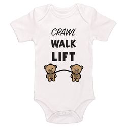Crawl, Walk Lift Baby / Toddler Bodysuit