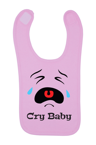 Cry Baby Baby Bib, 0-24 Months