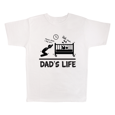 Dad's Life, 100% Polyester Adult Shirt
