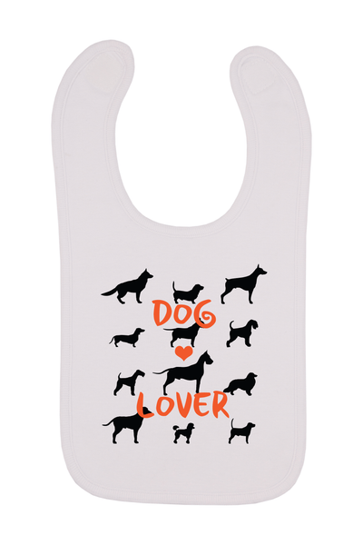 Dog Lover Baby Bib, 0-24 Months