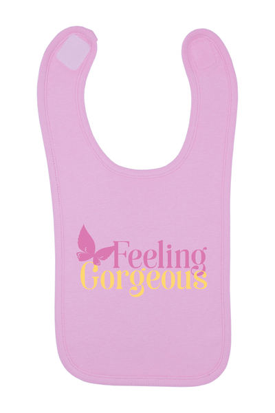 Feeling Gorgeous Baby Bib, 0-24 Months