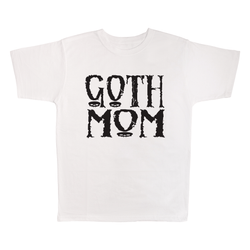 Goth Mom, 100% Polyester Adult Shirt