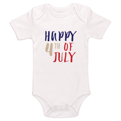 Happy 4th Of July Baby / Toddler Bodysuit