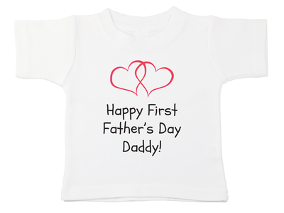 Happy First Father's Day Daddy Tee