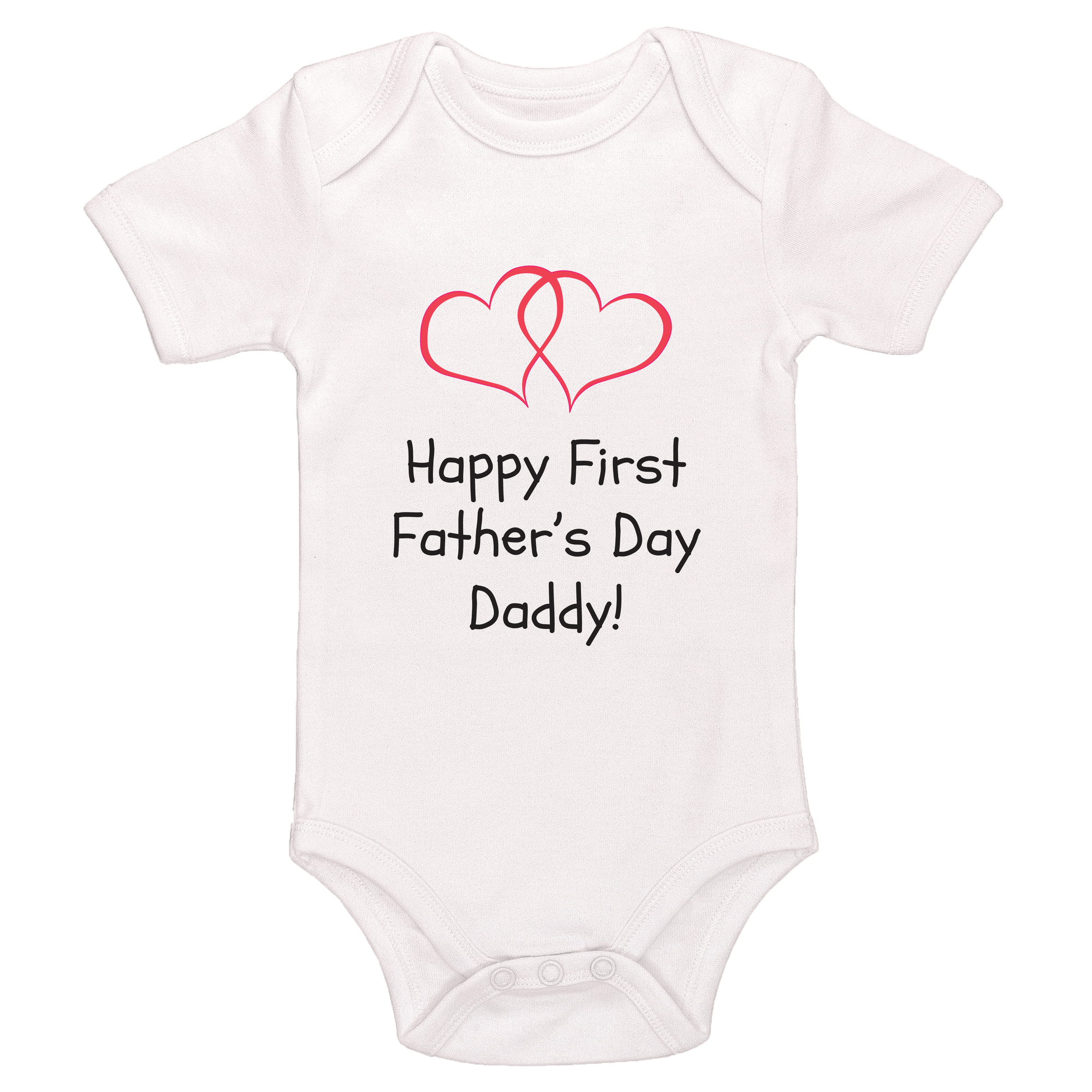 Happy First Father's Day Daddy Baby / Toddler Bodysuit