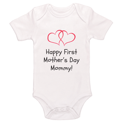 Happy First Mother's Day Mommy Baby / Toddler Bodysuit