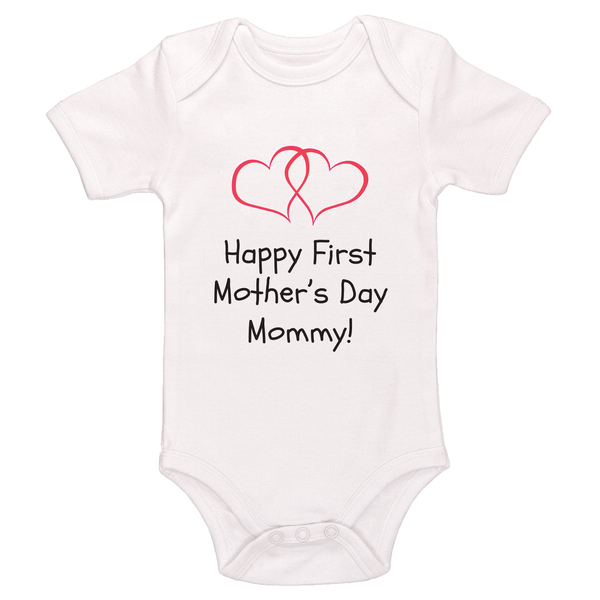 Happy First Mother's Day Mommy Bodysuit