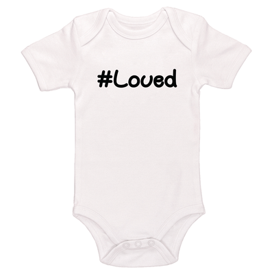 Hashtag Loved Baby / Toddler Bodysuit