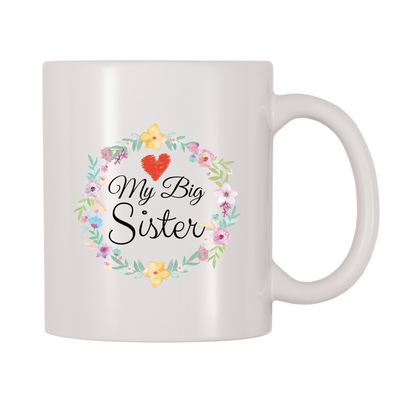 Love My Big Sister 11oz Coffee Mug