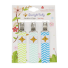 Pacifier Clips 3-Pack - Spring Theme