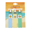 Pacifier Clips 3-Pack - Summer Theme