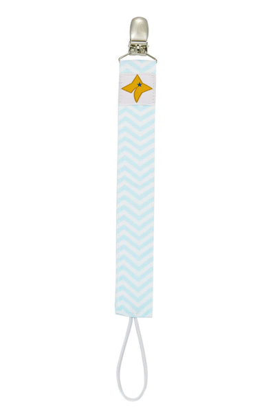 Pacifier Clips 3-Pack - Winter Theme