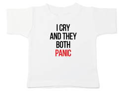 I Cry And They Both Panic Bodysuit