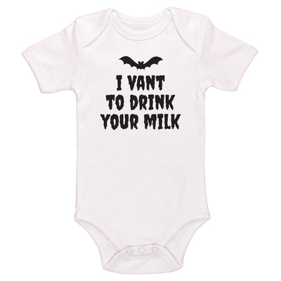 I Vant To Drink Your Milk Baby / Toddler Bodysuit