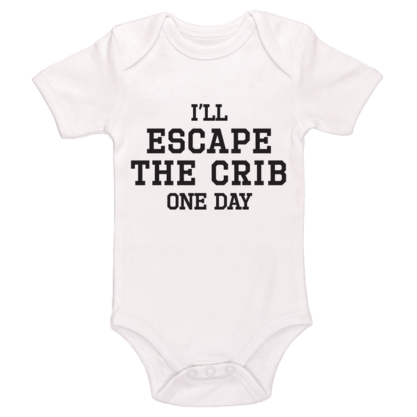 I'll Escape The Crib One Day Baby / Toddler Bodysuit