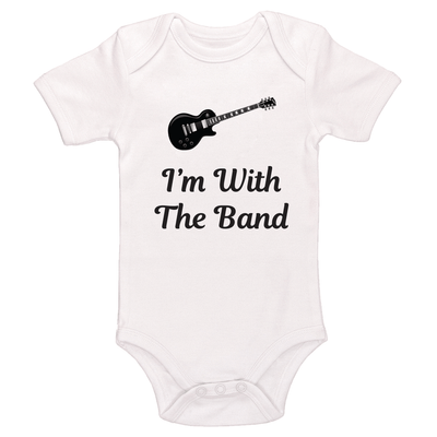 I'm With The Band Baby / Toddler Bodysuit