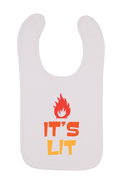 It's Lit Baby Bib, 0-24 Months