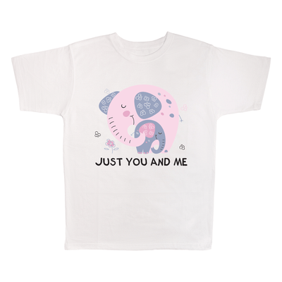 Just You And Me, 100% Polyester Adult Shirt