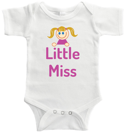 Little Miss Baby / Toddler Bodysuit