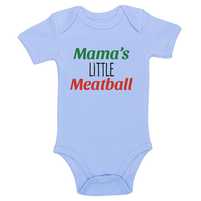 Mama's Little Meatball Baby / Toddler Bodysuit
