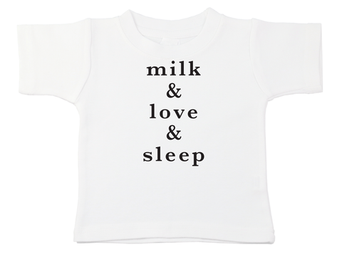 Milk & Love & Sleep Bodysuit