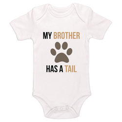 My Brother Has A Tail Baby / Toddler Bodysuit