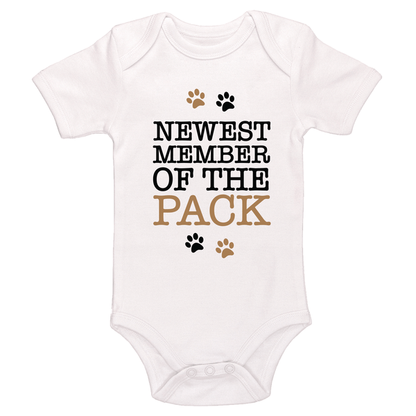 Newest Member Of The Pack Baby / Toddler Bodysuit