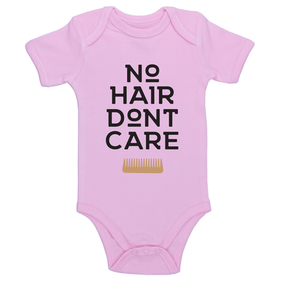 No Hair Don't Care Baby / Toddler Bodysuit