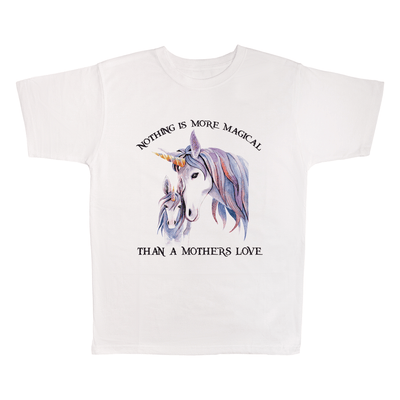 Nothing Is More Magical Than A Mother's Love, 100% Polyester Adult Shirt