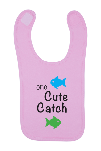 One Cute Catch Baby Bib, 0-24 Months