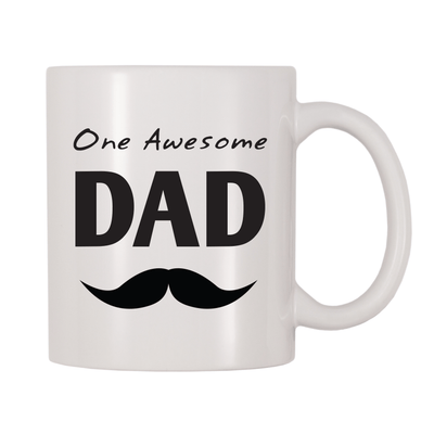 One Awesome Dad 11oz Coffee Mug
